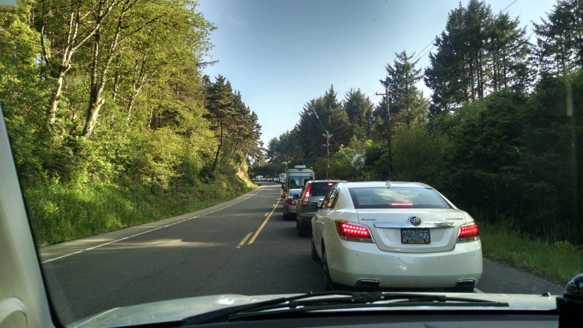 Crash brings everything to a sudden halt – Unleashed in Oregon