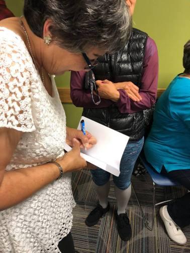 Sue signing books 7818