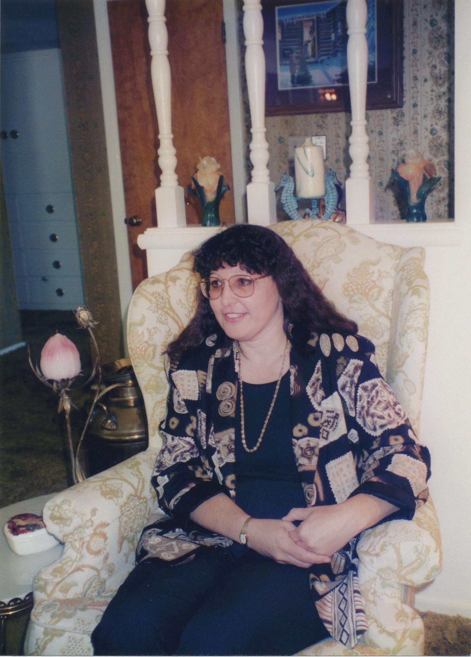 Sue interviewing MarieBalshor