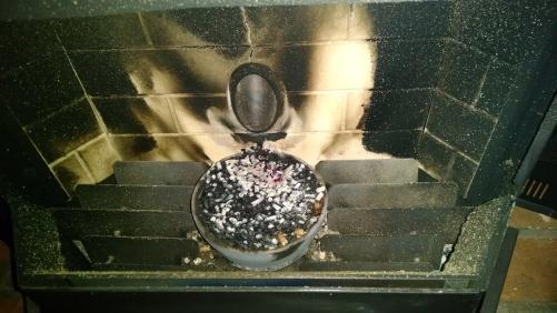 Pellet stove 12518D
