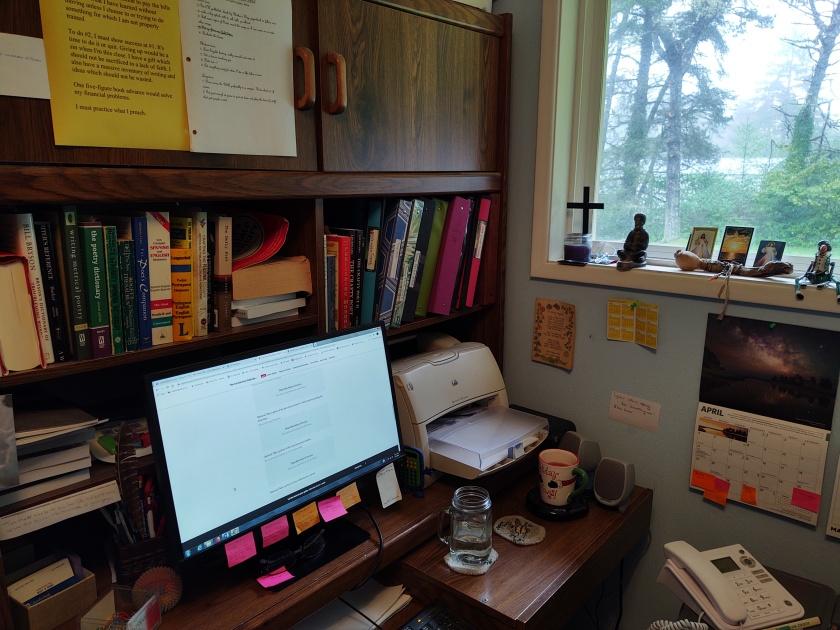 Sue's desk 42420